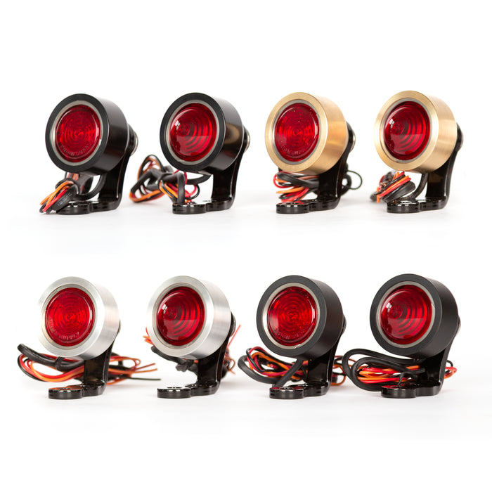 "1.25"" Speedster Tail Light - Motorcycle Parts - Prism Supply"