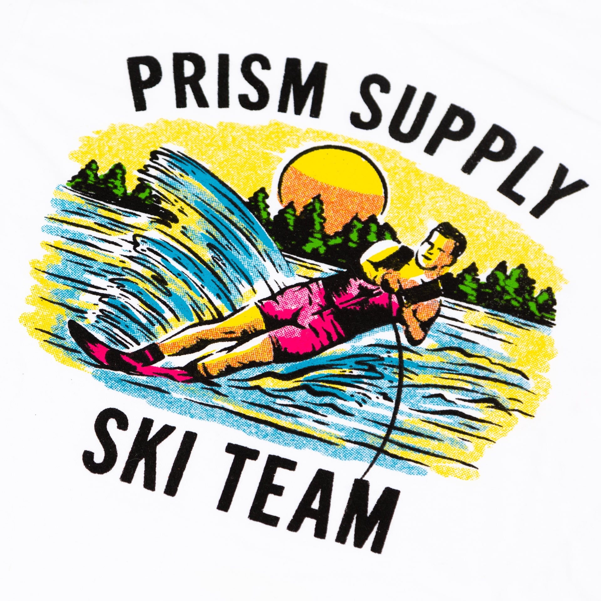 Ski Team Tee - White - Apparel and Accesories - Prism Supply