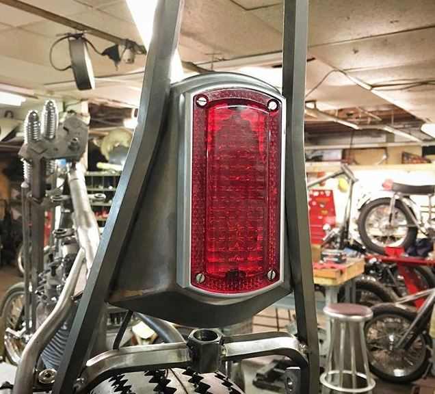 The Prism Box Chopper Tail Light - MC Parts - Prism Supply