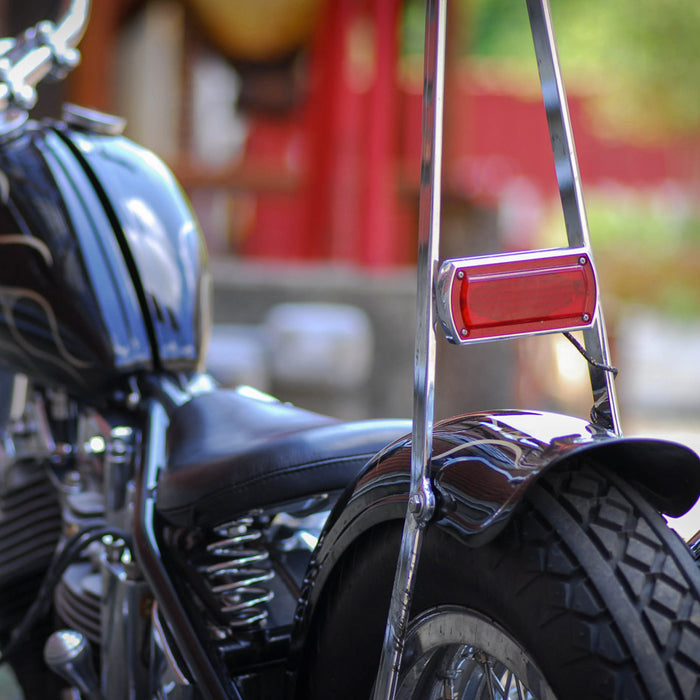 Box Chopper Tail light Weld-On Bracket - Fabrication Parts - Prism Supply