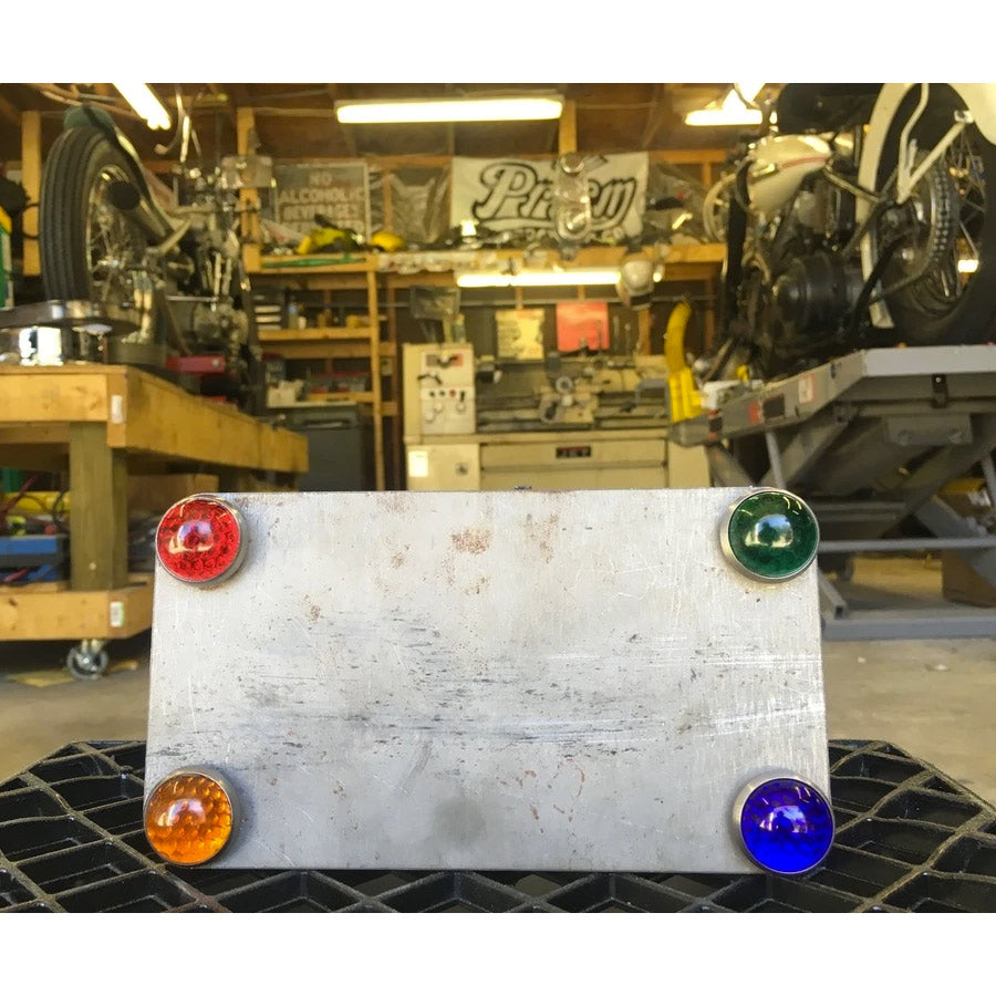 Glass License Plate Jewels - License Plates - Prism Supply