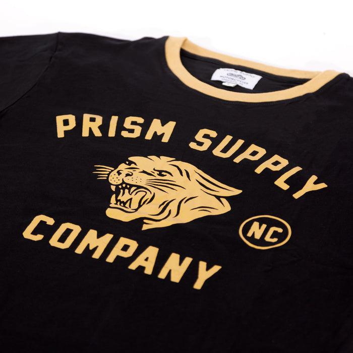 Panther Tee - Black - Apparel and Accesories - Prism Supply