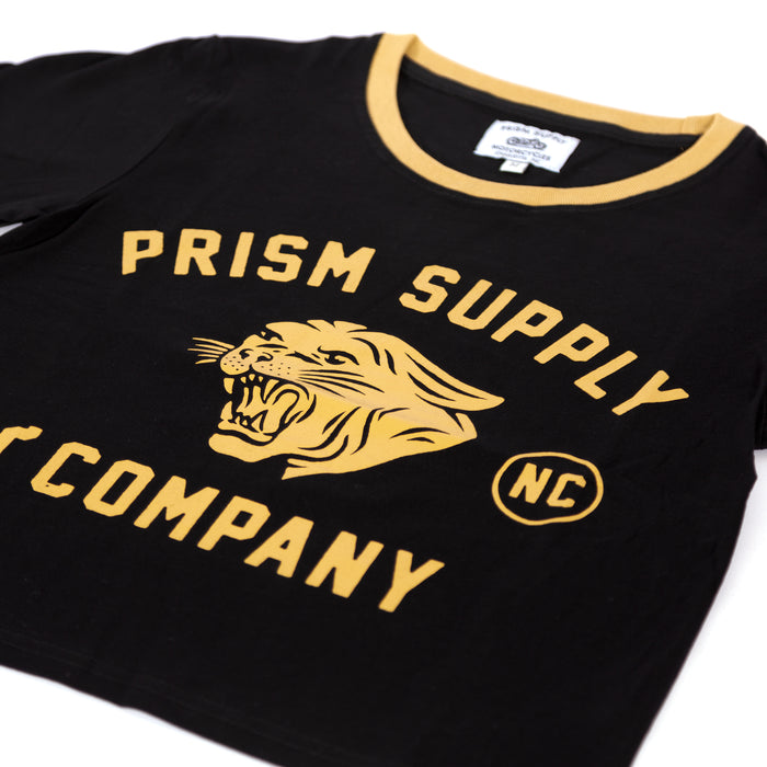 Women's Panther Tee - Black - Apparel and Accesories - Prism Supply