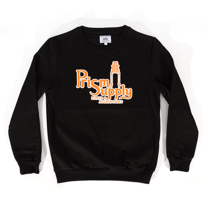 Springer Crewneck - Black - Apparel and Accessories - Prism Supply