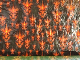 Fire Dragons - 50cm wide - Hydrographics PVA Film