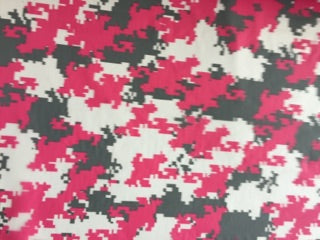 Pink Grey Digital Camo - 50cm wide - Hydrographics PVA Film