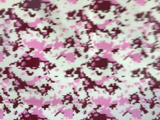 Maroon & Pink Digital Camo - 50cm wide - Hydrographics PVA Film