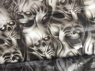 Hear No See No - 1 meter wide - Hydrographics PVA Film