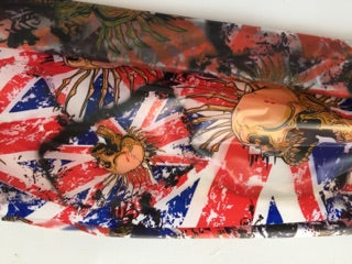Abstract UK Punk - 1 meter wide - Hydrographics PVA Film