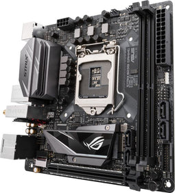 ASUS 90MB0U20-M0EAY0 ROG STRIX B250I GAMING LGA1151 DDR4 DP HDMI M.2 mini-ITX Motherboard with onboard 802.11AC Wifi, Intel Gigabit LAN and USB 3.0