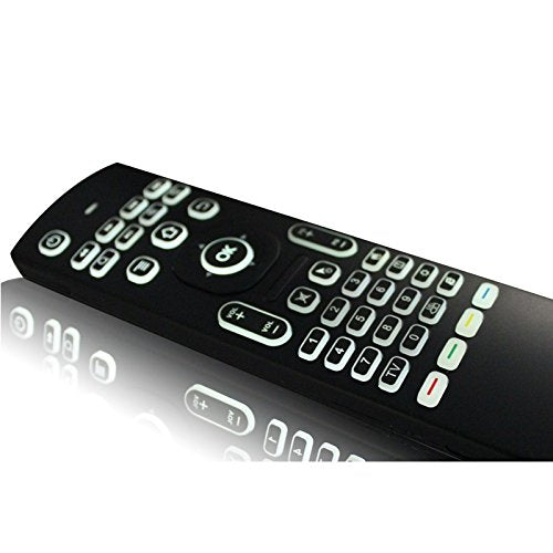 MX3 2 in 1 6-axis Air Mouse 2.4G Wireless Backlight Keyboard + Somatosensory Remote Control for Android TV Box Player & PC & Tablet