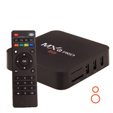 MXQ Pro Amlogic S905X Quad Core 64 bit 1 GB RAM/8 GB Hard, Andorid Smart TV Box, 4K Ultra HD , Android 6.0 , 4K Ultra HD KODI
