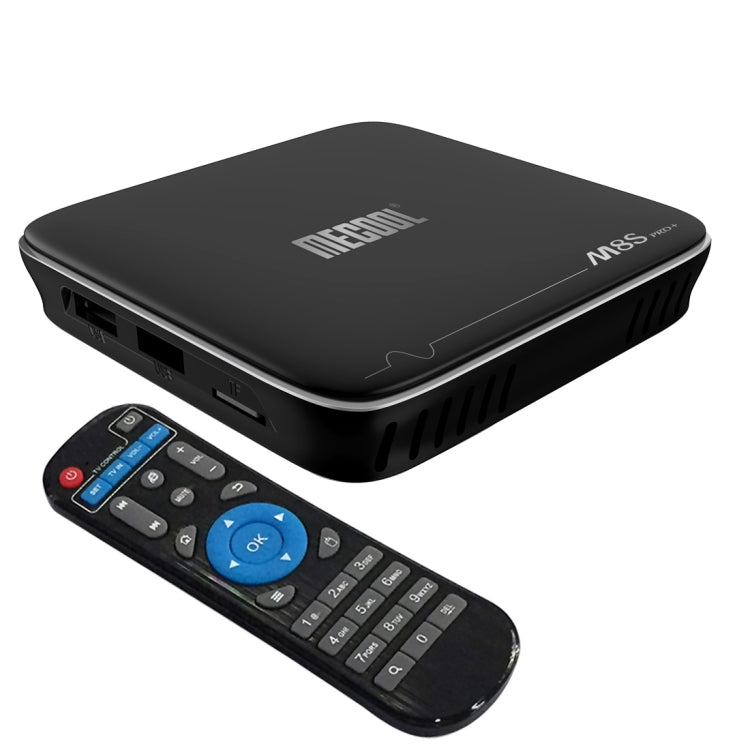 M8S PRO+ 4Kx2K UHD Smart TV BOX Player with Remote Controller, Android 7.1 Amlogic S905X Quad Core