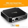X96 mini 4K*2K UHD Output Smart TV BOX Player with Remote Controller, Android 7.1.2 (Black)