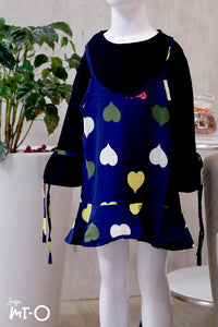 Ishya Faux 2-pc Hearts Blouse (Kids)