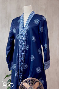 Lyla Songket Jubah in Royal Blue