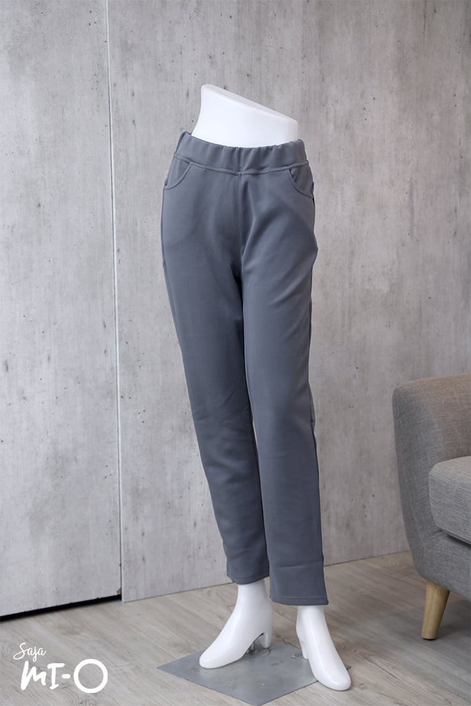 Kamila Pull-On Pants in Grey