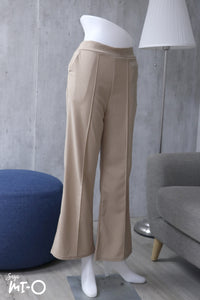 Sara Culottes in Latte Brown
