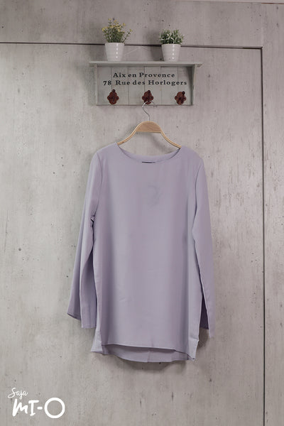 Shereen Plain Top in Lilac