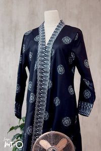 Lyla Songket Jubah in Black