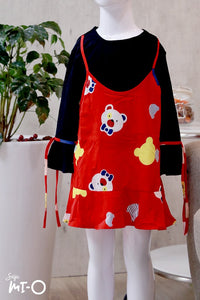 Ishya Faux 2-pc Beary Sweet Blouse (Kids)