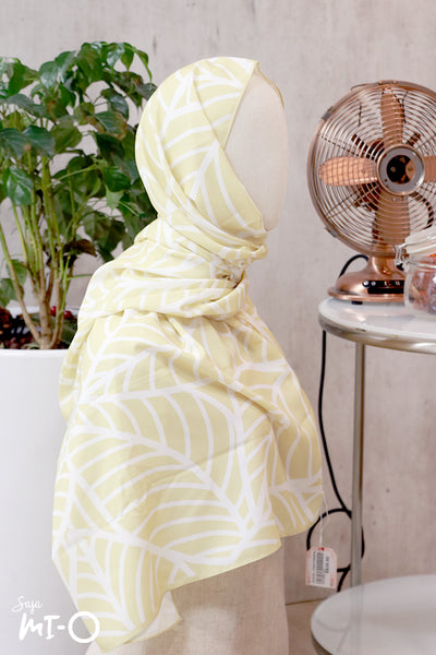 Arwa Tropical Headscarf in Yellow - Saja Mi-O