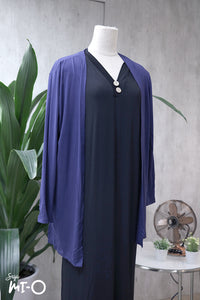 Casey Slip Cardigan in Nautical Navy - Saja Mi-O