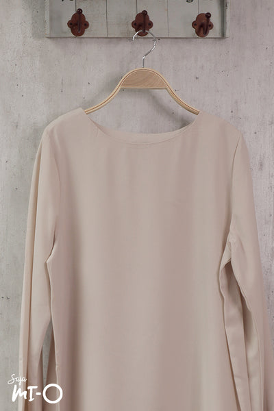 Shereen Plain Top in Cream