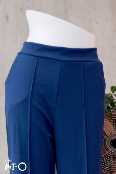 Sara Culottes in Steel Blue