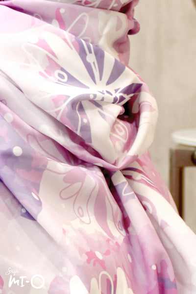 Saara Headscarf in Hyacinth - Saja Mi-O