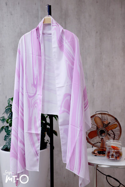 Hadi Sweet Escape Tudung in Lilac - Saja Mi-O