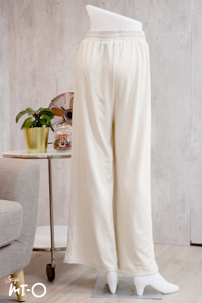 Arwa Everyday Comfort Pants in Beige - Saja Mi-O