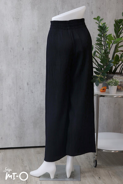 Katie Pleated Pants in Black