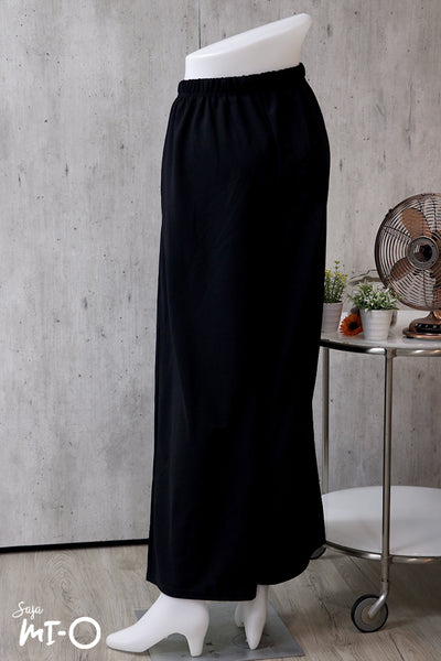 Mariana Wide Leg Bottom in Black