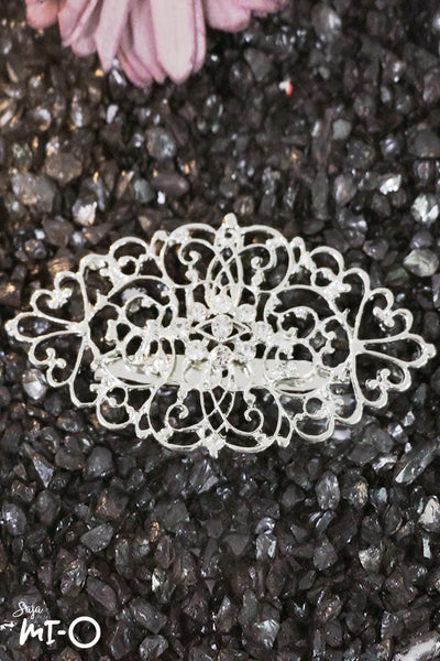Provenance Leaf-Shaped Brooch