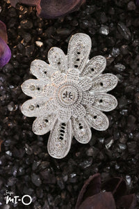 Royal Dahlia Brooch - Saja Mi-O
