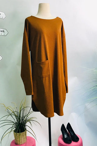 Ivana Top in Golden Brown - Saja Mi-O