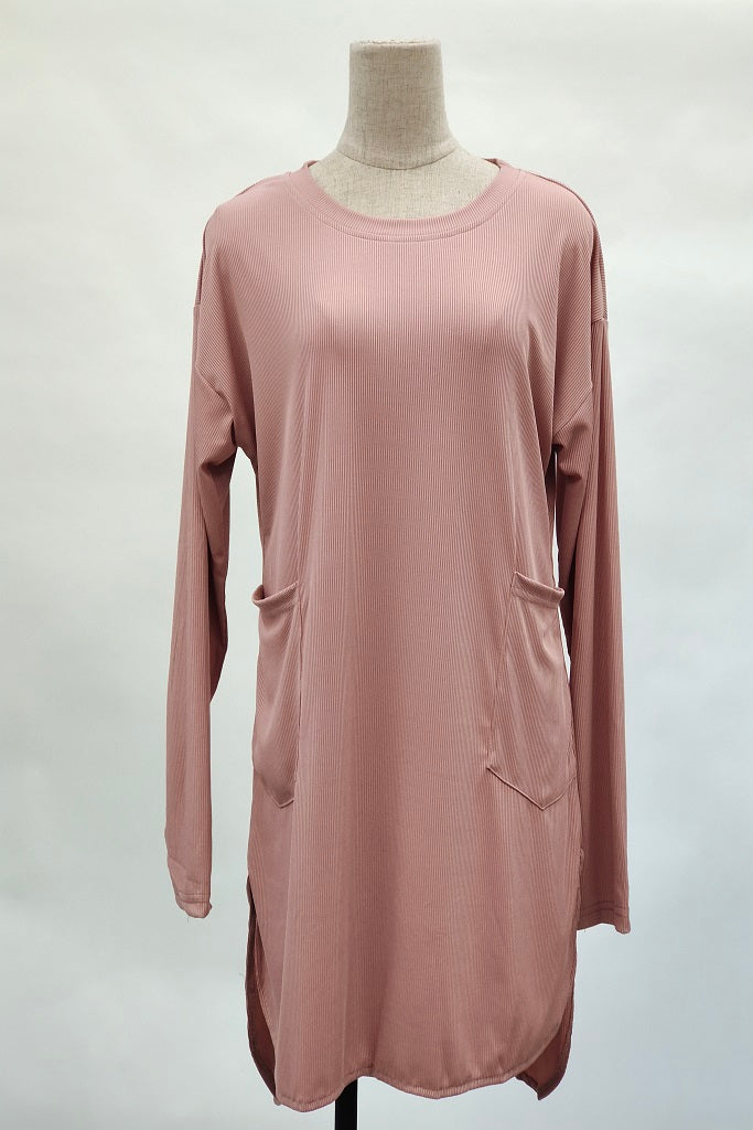 Angelina Two Poket Top in Pink