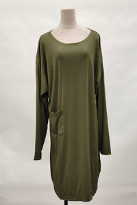 Margaret Plus Size Top in Army Green