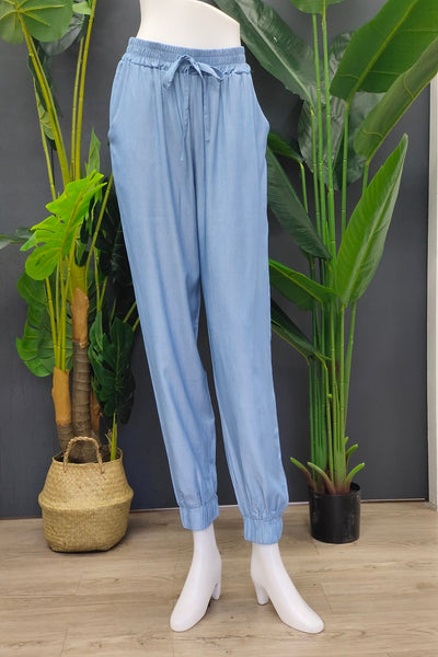 Nica Jogger Pants in Blue Dusk