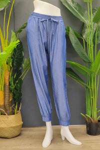 Nica Jogger Pants in Blue