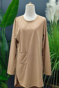 M-Series Slimming Top in Brown