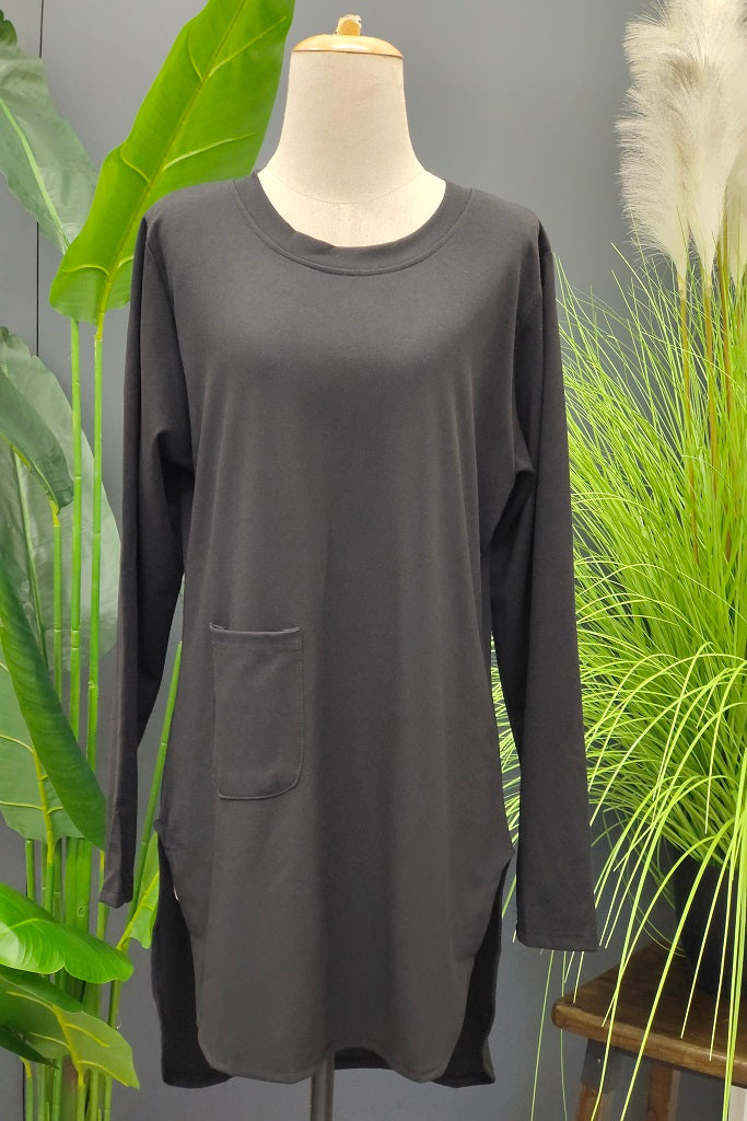 M-Series Slimming Top in Black