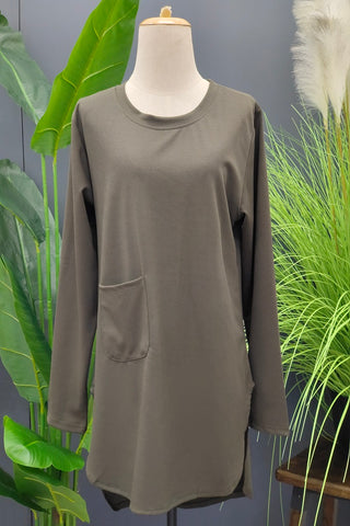 M-Series Slimming Top in Army Green