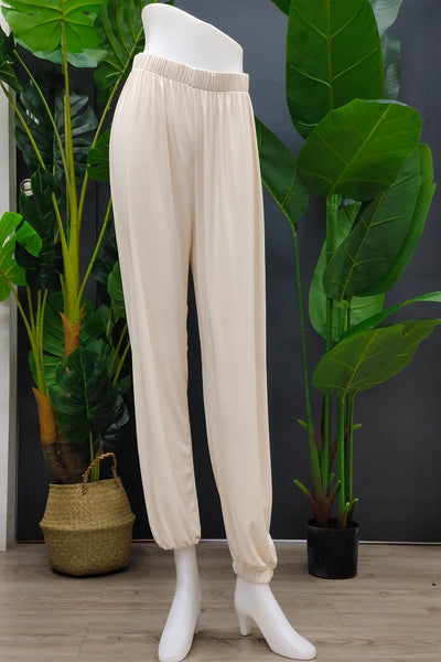 Janella Jogger Pants in Cream