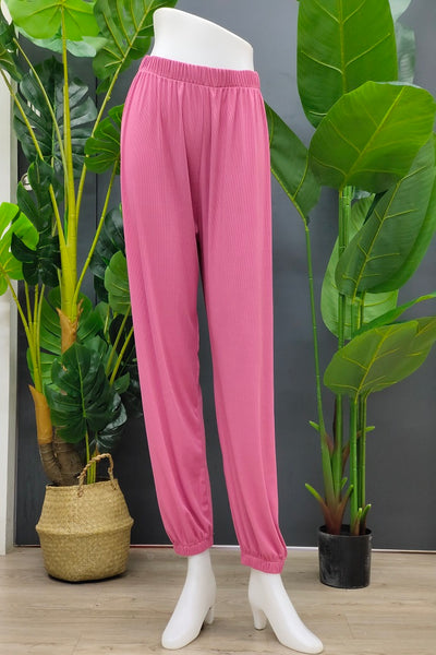Janella Jogger Pants in Old Rose