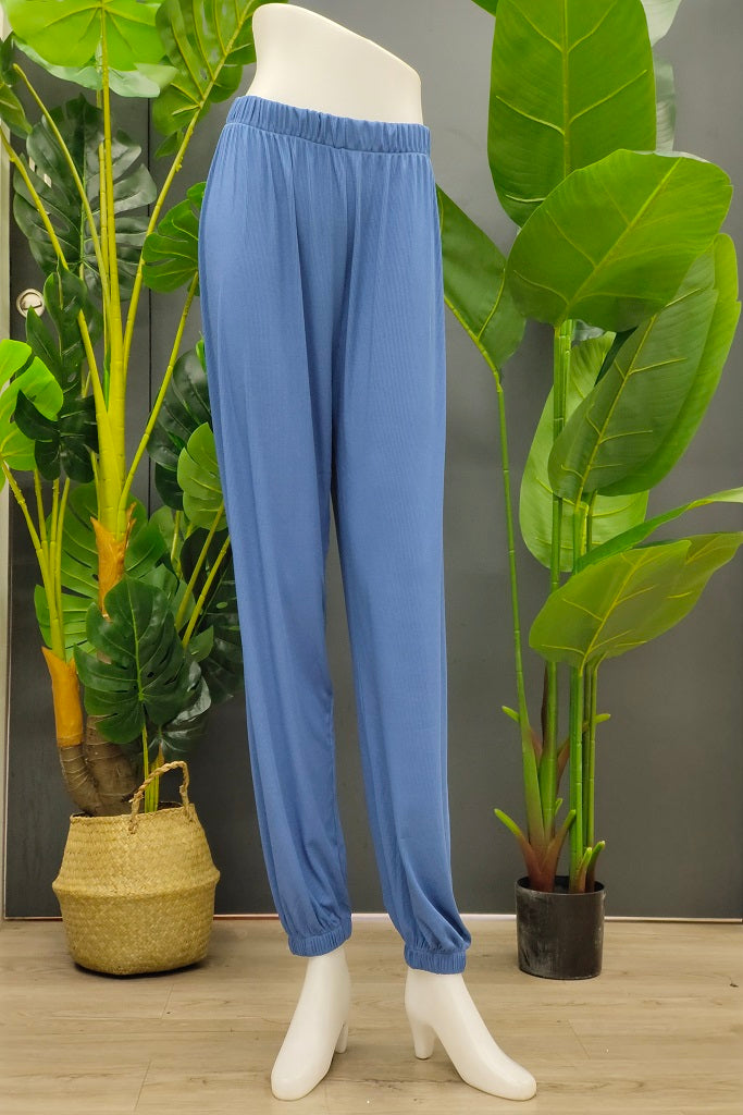 Janella Jogger Pants in Blue