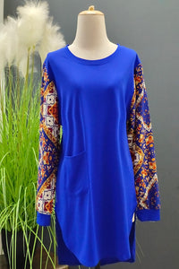 Jessy Top in Royal Blue