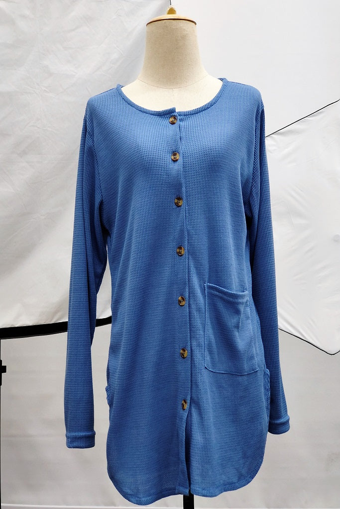 Natashia 2 in 1 Top in Blue
