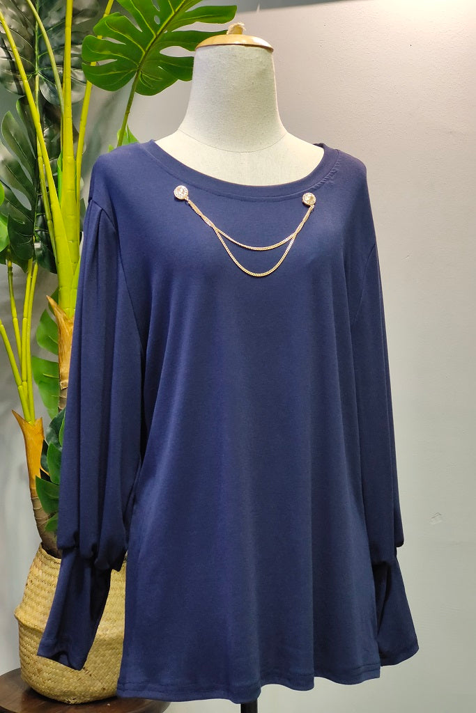 Rosana Top in Blue